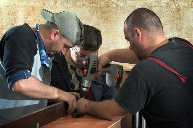 Flyktninger som jobber