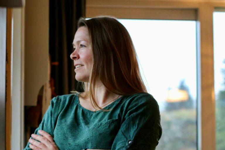 FOTO: JON OLAV ØKLAND Kristina Vaktskjold Hamre, fylkestingsrepresentant for Vestland KrF