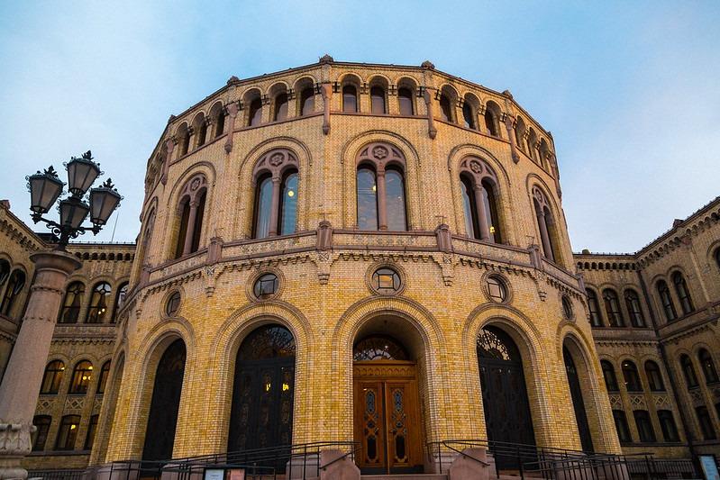 Stortinget. FOTO: HENRIK HELMERS