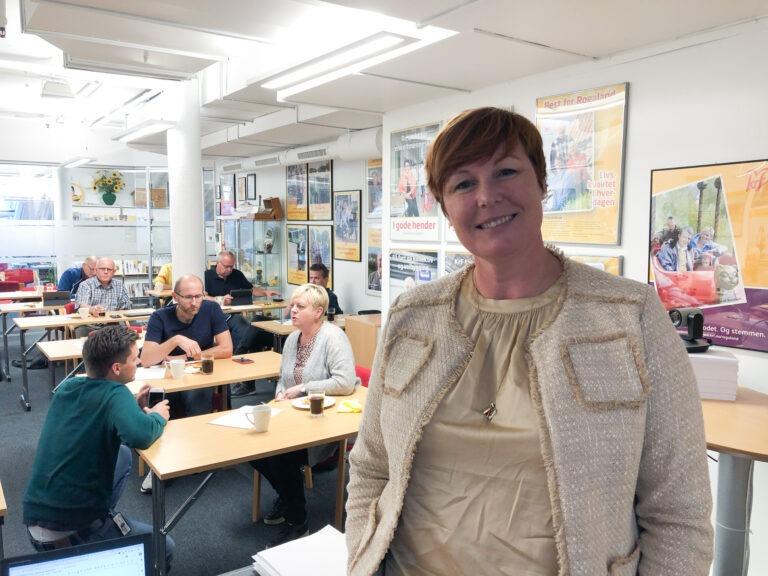 Fylkesleder Oddny Helen Turøy