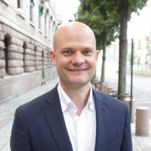 Stig-Øyvind Blystad, rådgvier til samferdselsministeren
