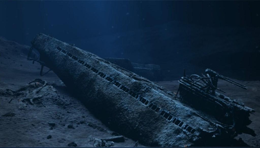ILLUSTRASJON: KYSTVERKET U-864 ubåtvraket