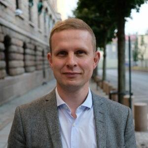 Erik Lunde, statssekretær for barne- og familieministeren