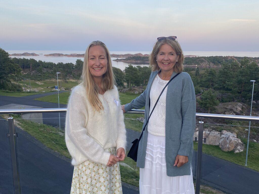 Fra venstre: Charlotte Beckmann Østeby og Anne Karin Imeland