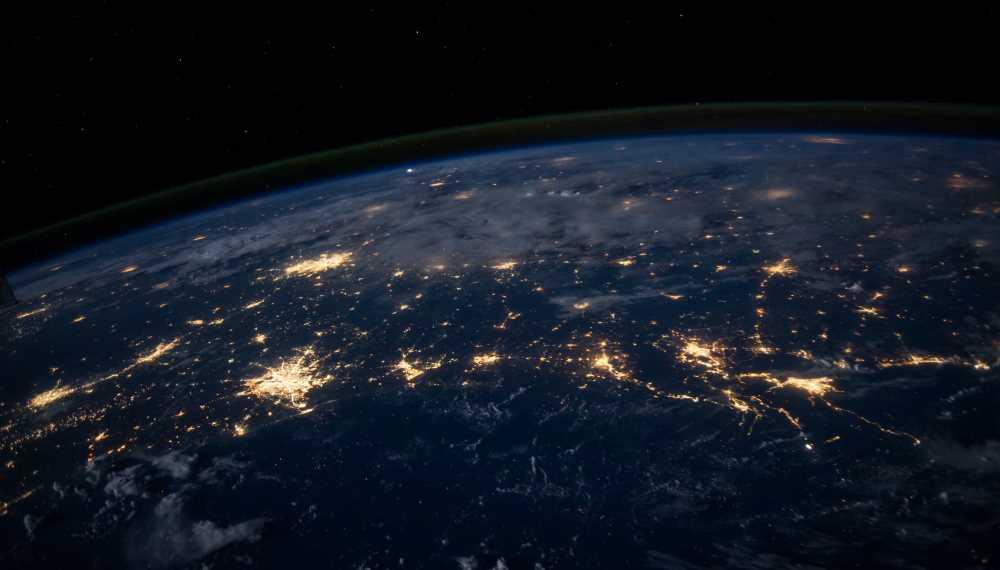 Illustrasjonsbilde av jorden fra verdensrommet
