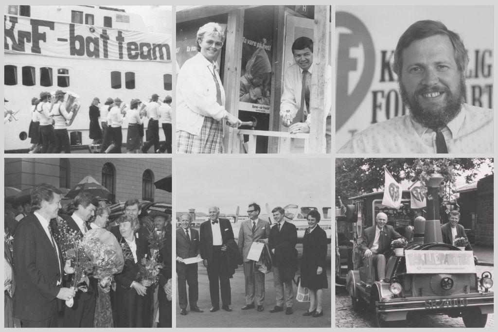 bilder fra KrFs historie