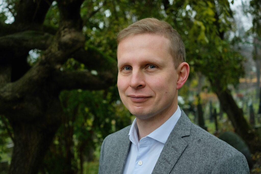 Portrett av Erik Lunde