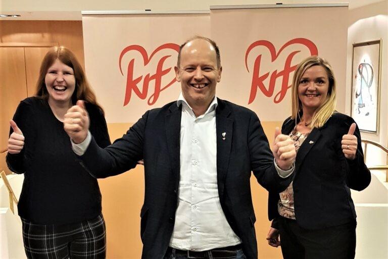 KrFs 3 fremste kandidater i Møre og Romsdal