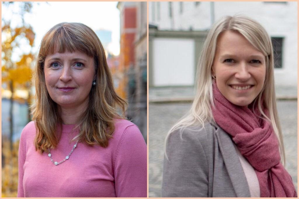 Bilde av Ingelin Noresjø og Rebekka Losland
