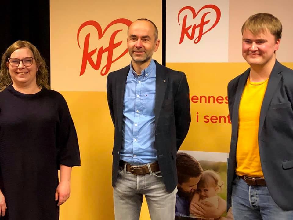 Bilde av Åste Marie L. Lindau, Øvind Håbrekke, og Daniel Myhren Hovind