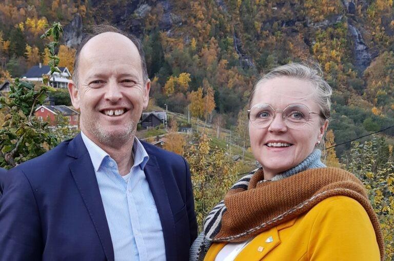 Harry Valderhaug og Randi W Frisvoll