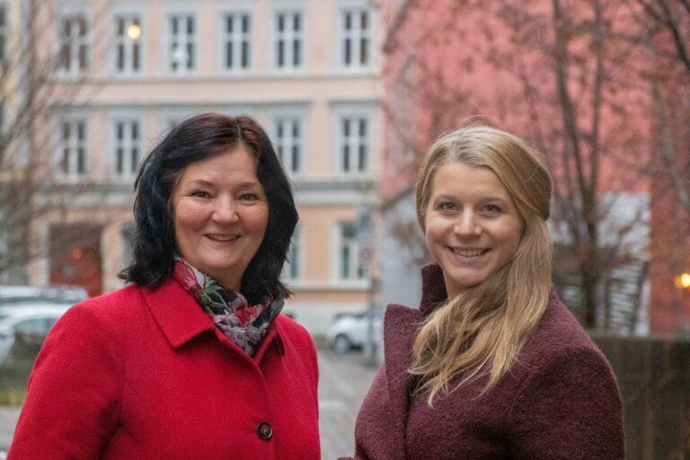 Ida Lindtveit Røse og britt Gulbrandsen