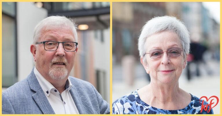 Geir Sigbjørn Toskedal og Torhild Bransdal