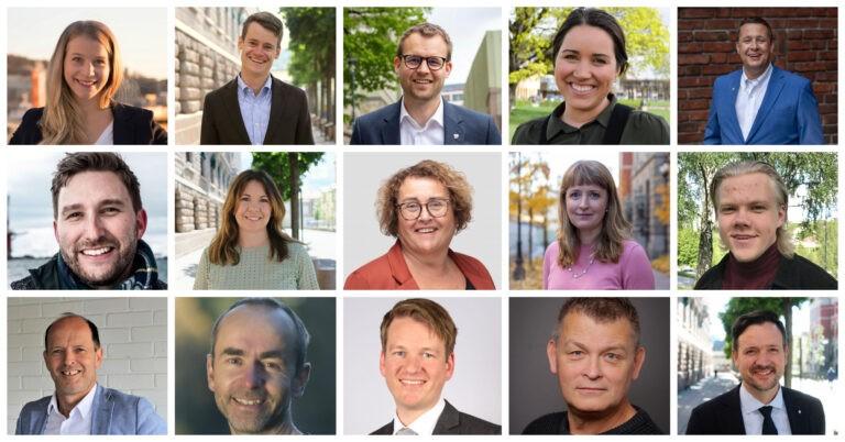 KrFs førstekandidater til stortingsvalget i 2021
