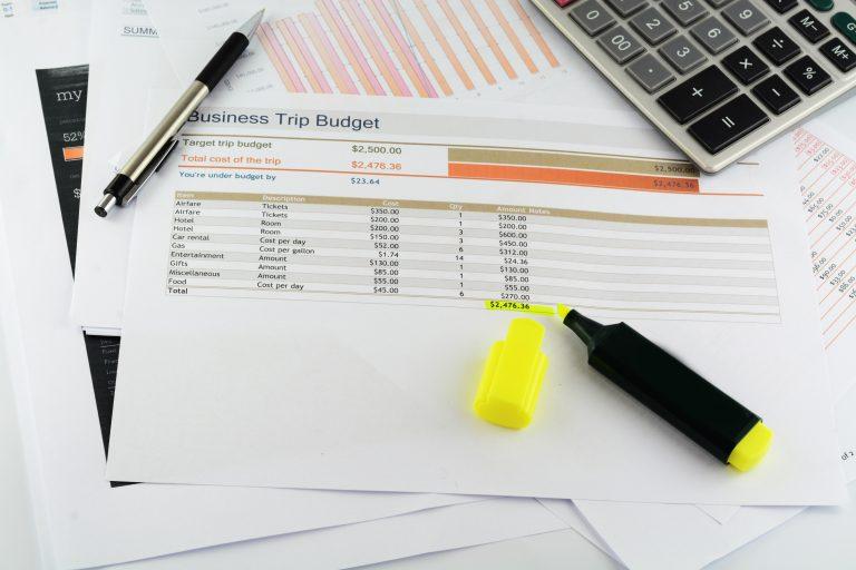 Regnskap og budsjett