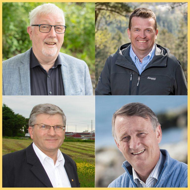 Fire fra Karmøy, Toskedal, Grindhaug, Svendsen og Knutsen