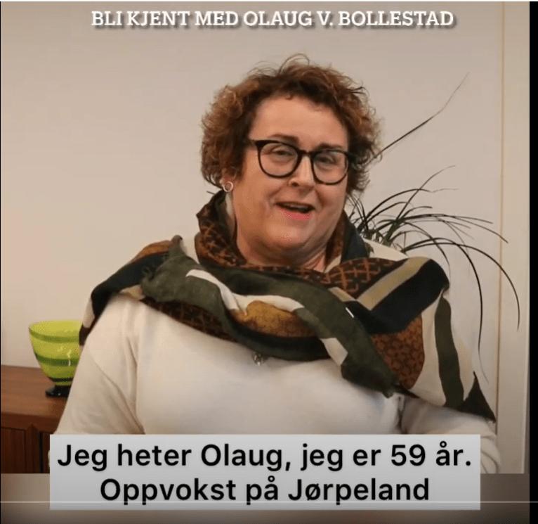 Skjermdump av youtubebilde av Bollestad