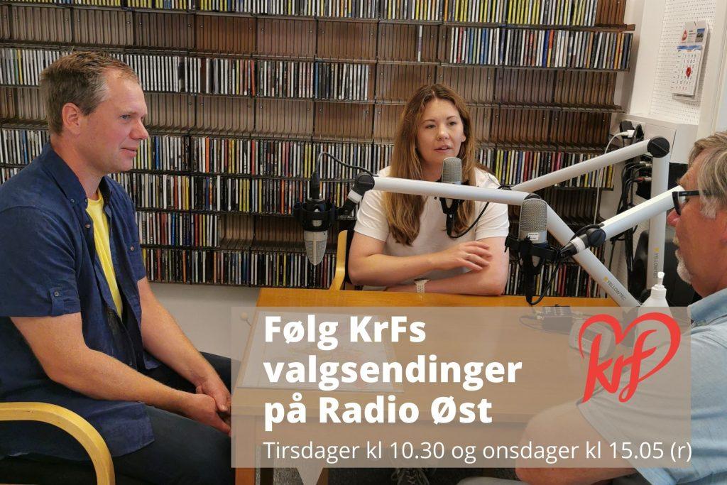 ar Kiserud på Radio Øst
